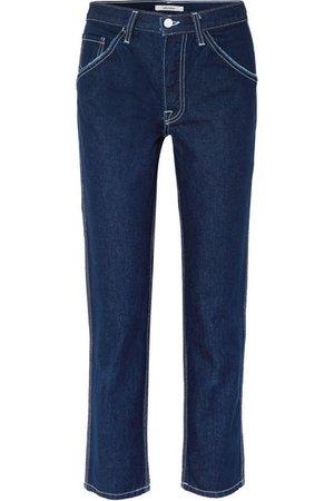 GRLFRND | Janice high-rise straight-leg jeans | NET-A-PORTER.COM