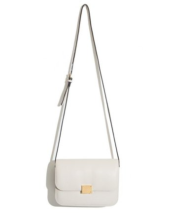 bag white bag crossbody bag celine bag boxy bag shoulder body bag everyday bag ivory bag