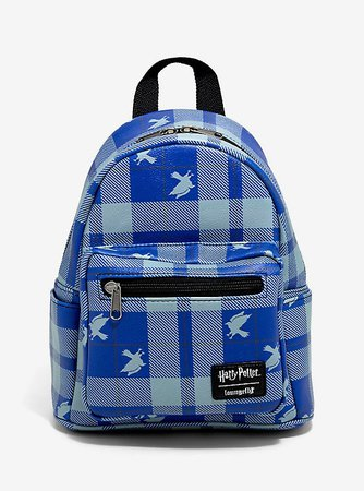 Loungefly Harry Potter Ravenclaw Plaid Mini Backpack