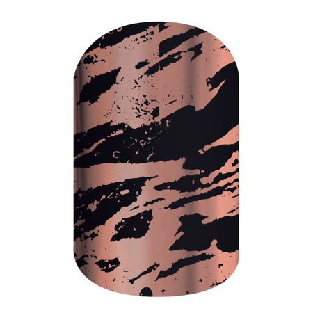 Jamberry: Obsidian Rose Gold