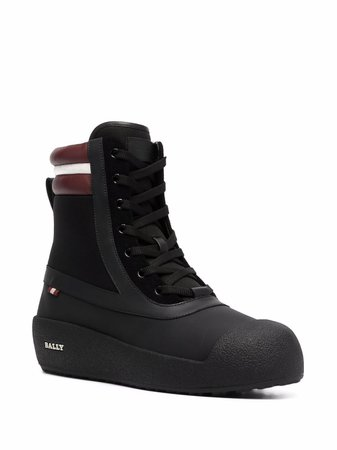 Bally chunky-sole ankle boots - FARFETCH