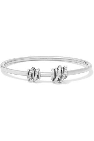 de GRISOGONO | Bracelet en or blanc 18 carats et diamants Allegra Toi & Moi | NET-A-PORTER.COM