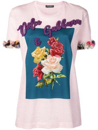 Dolce & Gabbana Floral T-shirt