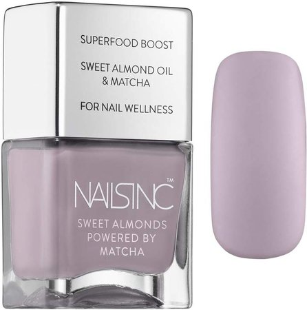 Sweet Almond Nail Polish Powered By Matcha