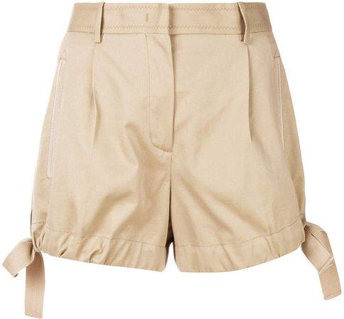 side bow shorts