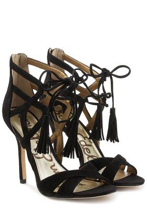 Azela Suede Stiletto Sandals Gr. EU 39.5