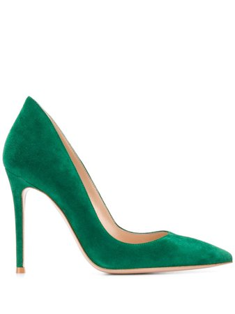 Gianvito Rossi Ellipsis pointed pumps £545 - Shop Online - Fast Global Shipping, Price