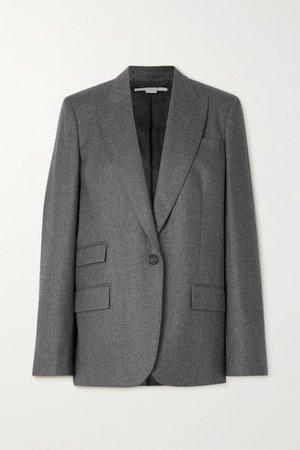 Gray Bell wool blazer | Stella McCartney | NET-A-PORTER