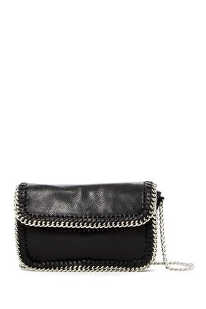 SR SQUARED BY SONDRA ROBERTS | Metallic Chain Trim Crossbody | Nordstrom Rack