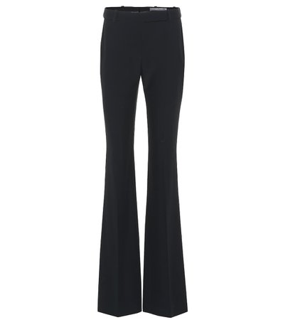 Mid-Rise Flared Pants - Alexander McQueen | mytheresa