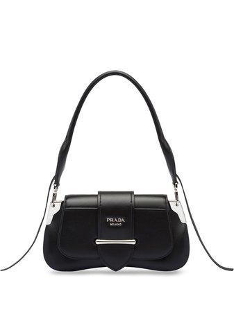 Prada Sidonie Shoulder Bag 1BD168VOJH2AIX Black | Farfetch