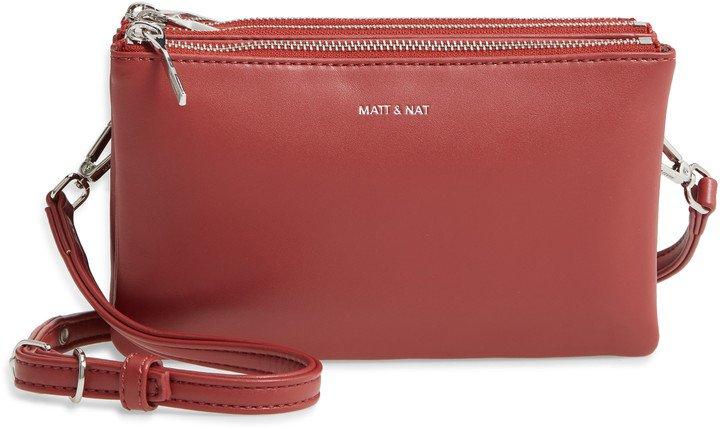 Matt & Natt Triplet Faux Leather Crossbody