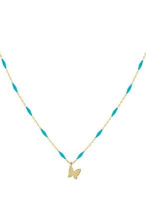 Adina's Jewels Butterfly Enameled Choker | Nordstrom