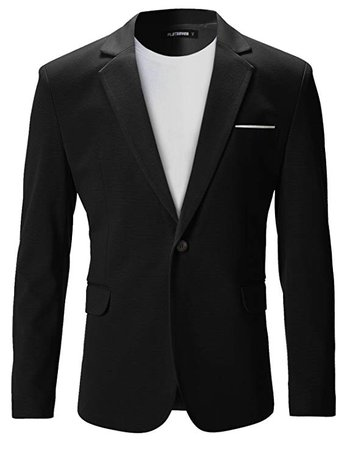 FLATSEVEN Mens Fit Casual Premium Blazer Jacket at Amazon Men's Clothing store: Blazers And Sports Jackets