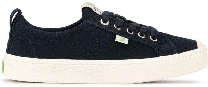 OCA Low Navy Suede Sneaker