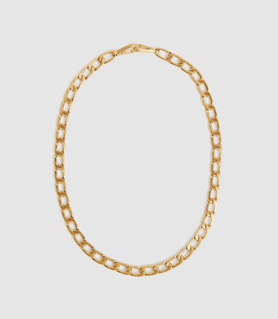 Lexi Gold Gold Plated Double Wrap Necklace – REISS