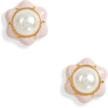 Carnation Stud Earrings