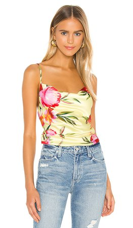 NBD Harmony Cami Top in Yellow Watercolor | REVOLVE
