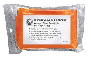 Polarshield Bright Orange and Silver Survival Heat Reflecting Blanket