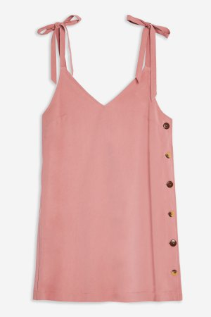 Button Mini Slip Dress | Topshop