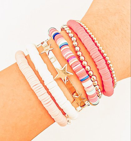 preppy bead bracelets