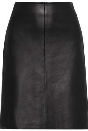 Sofie Leather Skirt