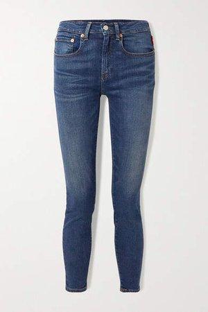 Denimist - Fern Mid-rise Skinny Jeans - Blue
