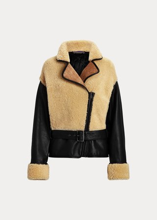 Richie Shearling-Leather Coat