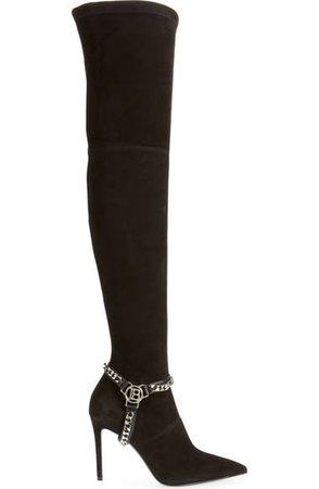 Balmain Onelya Over the Knee Boot (Women) | Nordstrom
