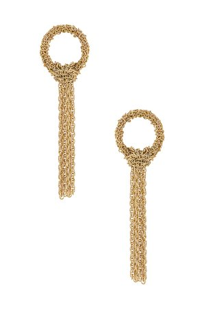 SHASHI Nouveau Earrings in Gold | REVOLVE