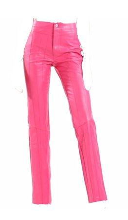 pink i am gia trousers