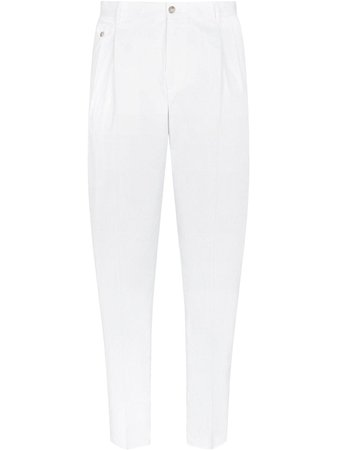 Dolce & Gabbana pleated tapered trousers - FARFETCH