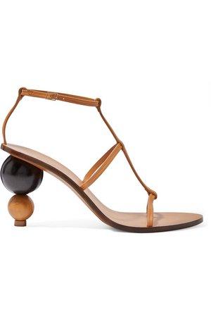 Cult Gaia | Eden leather sandals | NET-A-PORTER.COM