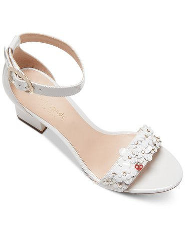 kate spade new york Tansy Embellished Dress Sandals & Reviews - Sandals - Shoes - Macy's