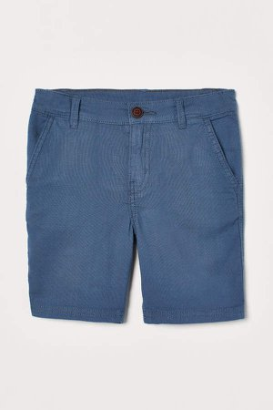 Cotton Shorts - Blue