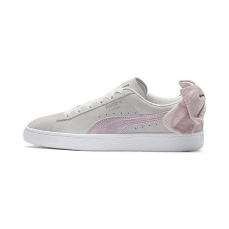 Suede Bow Hexamesh Women's Sneakers   Marshmallow-Pale Pink   PUMA Lows   PUMA United States