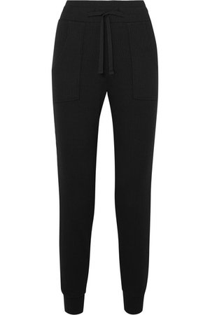 The Range | Alloy ribbed stretch-knit track pants | NET-A-PORTER.COM