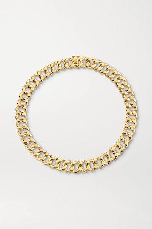 Gold 18-karat gold necklace | Anita Ko | NET-A-PORTER