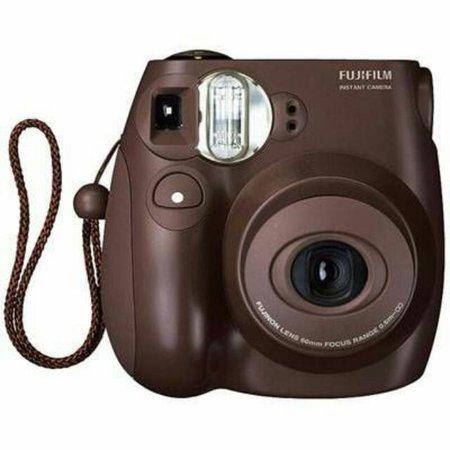Instax Mini 7s Polaroid Camera [BROWN] on Carousell