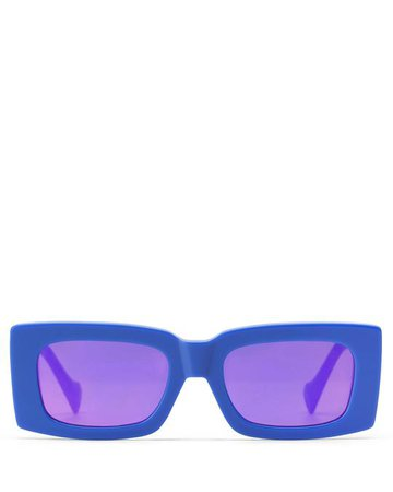 MIAMI BLUE Glasses - Naked Wolfe