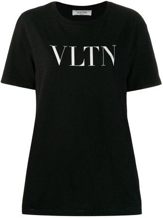 Valentino VLTN Logo T-shirt - Farfetch