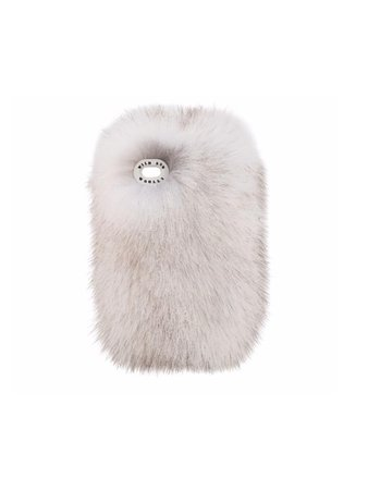 wild and woolly fur phone case