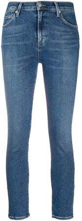 Rocket mid-rise skinny jeans