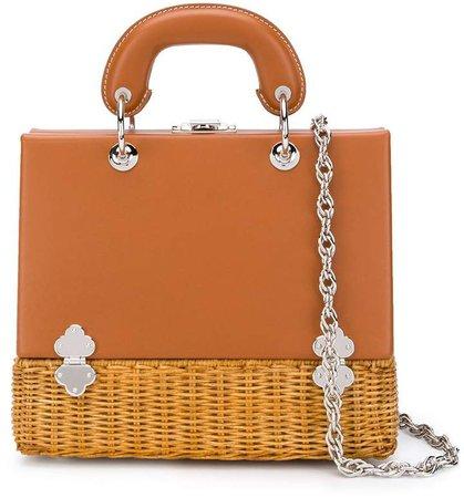 Clasp Basket Tote Bag