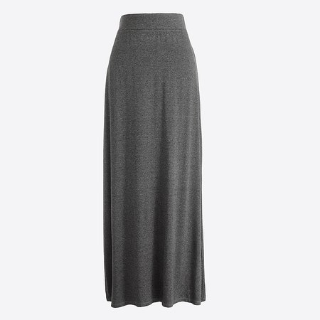 J.Crew Factory: Jersey Maxi Skirt For Women
