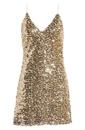 Force of Fashion Sequin Backless Minidress   Nordstrom