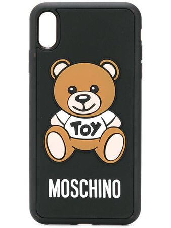 Moschino Toy Teddy iPhone XS Max case £78 - Buy Online - Mobile Friendly, Fast Delivery