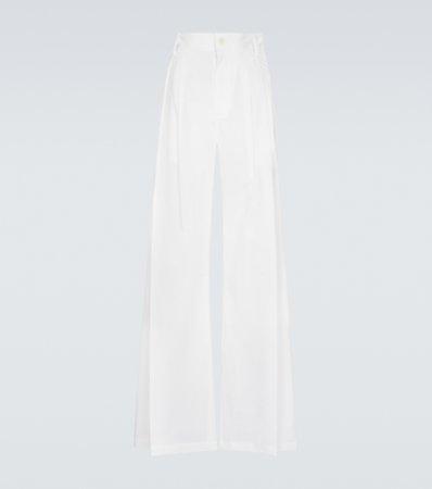 Lanvin, Straight-leg tailored pants