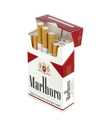 Marlboro Red - red 'n white