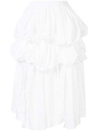 Ruffled Elasticated Waist Skirt